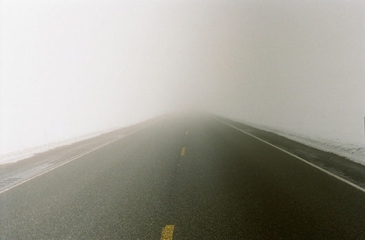 Google Reader #photography #fog #road