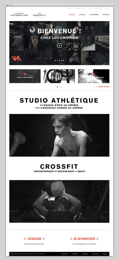 Studio Locomotion #website #layout #design #web