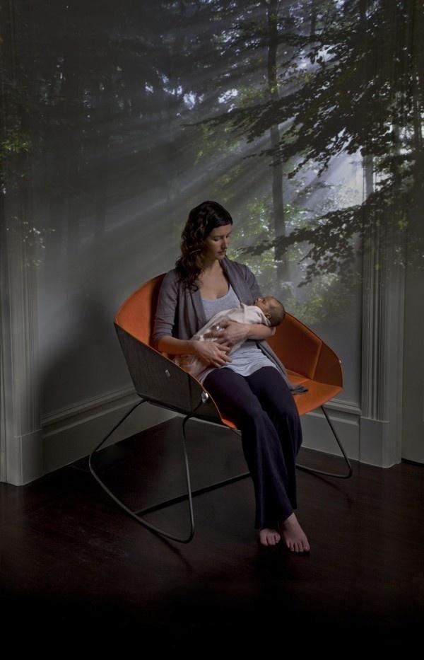 Decor KOO BassinetRocker Contemporary #interior #design #decor #home #furniture #architecture