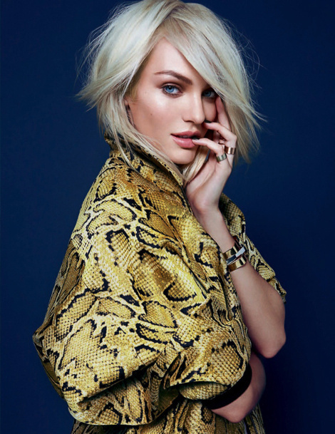 Candice Swanepoel for the December Issue of Elle UK #fashion #model #photography #girl