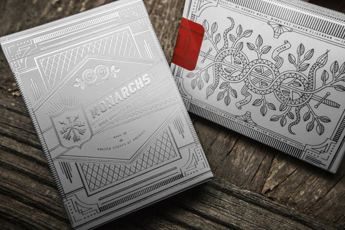 theory11 playing cards via www.mr-cup.com #branding #card #design #playing #product #gambling #gold