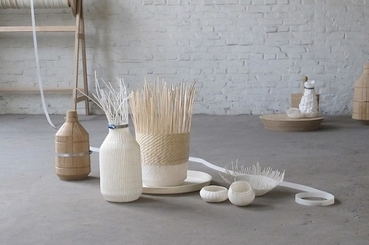 thisispaper.com - Images #craft #weave #white