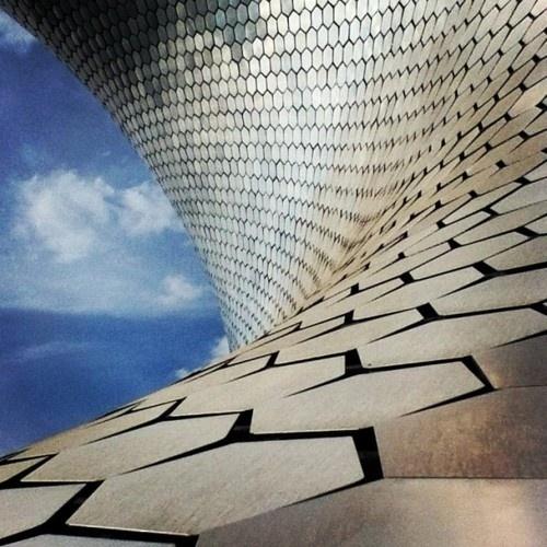 Antonio Valiente #geometria #geometry #museo #museum #soumaya #mexico #architecture #arquitectura