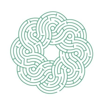 Market Navigators – ATWTP® all the way to paris #logo #visuel #identity #labyrinthe