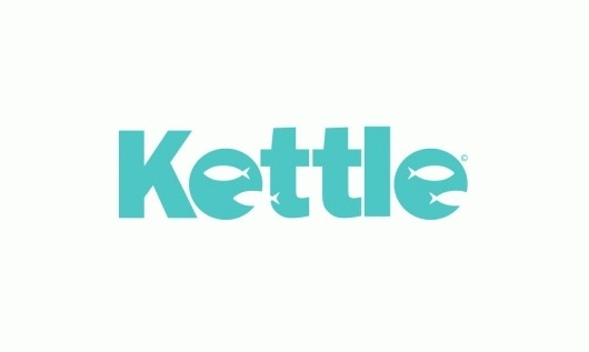 Sam Dallyn - Kettle 3D #fish #turquoise #identity #kettle #logo
