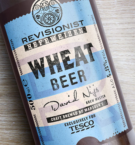Tescos Revisionist #packaging #beer #type