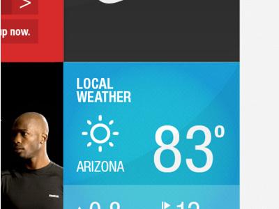 WEATHER UI #pattern #weather #interface #texture #website #blue #web #neon