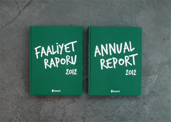 Garanti Bank 2012 Annual Report #information #design #graphic #book #annual #istanbul #report