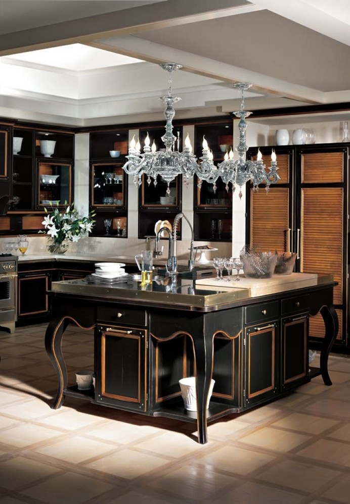 Excelsa kitchen - handcrafted kitchen brings together traditional and contemporary style - www.homeworlddesign (4) #kitchen #traditional #italy #modern