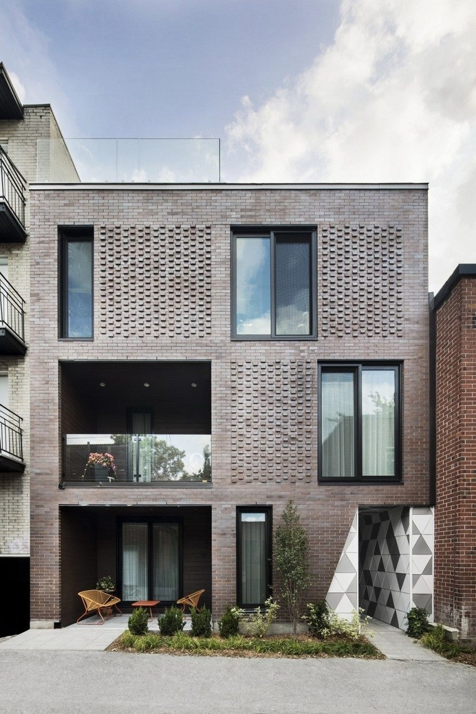Contemporary Residential Building of Five Housing Units: La Géode by ADHOC Architects 14