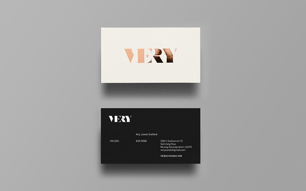 VERY on Behance #stationery