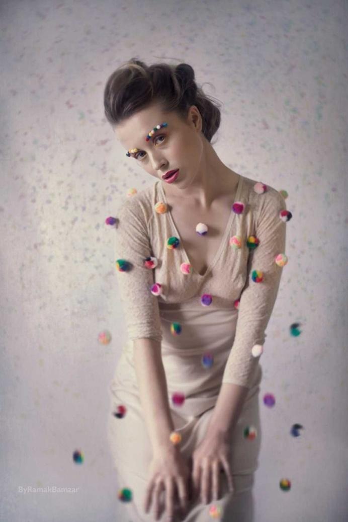 Dreamlike Portrait Photography by Ramak Bamzar