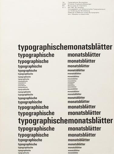 emil ruder 1960s swiss typography #typography #minimal #swiss #univers #print design #emil ruder #1960