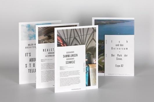 Holzer Kobler Architekturen : Studio Laucke Siebein #print #design #graphic #publication
