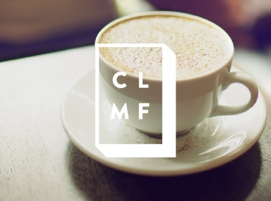 CLMF on the Behance Network #logo #branding #cafe
