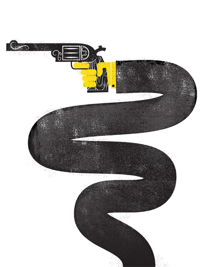 6 gun