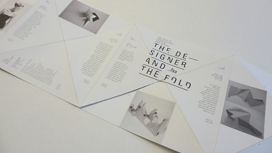 La Nouvelle #design #graphic #folding #poster