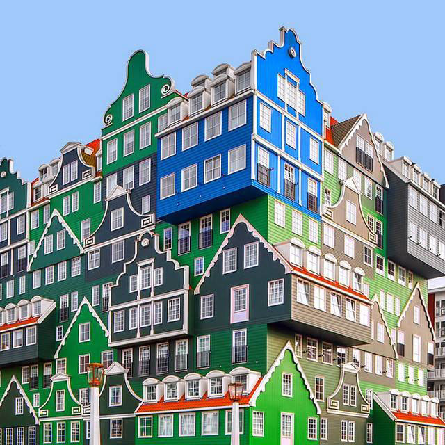 #Colorful #Architecture #Photography by Ramin Nasibov