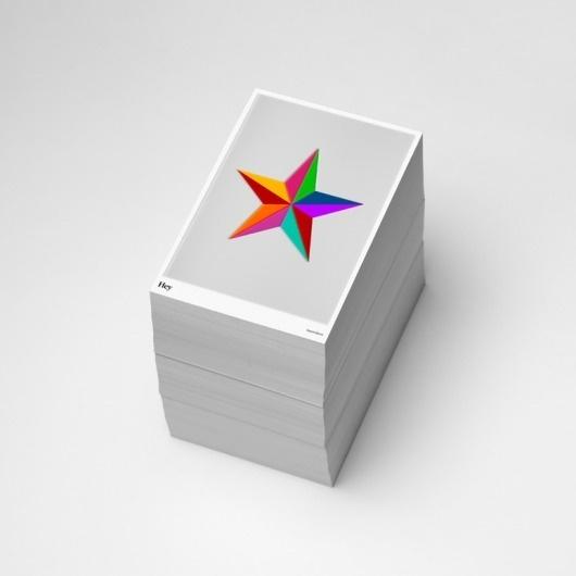 Hey Christmas 2012   Hey #print #colors