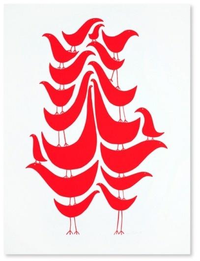 Google Image Result for http://www.monkeyama.com/wp-content/uploads/2009/01/wayne-pate-1.png #pate #birds #illustration #wayne #poster