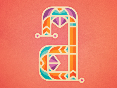 A #vector #pop #graphic #letter #typography