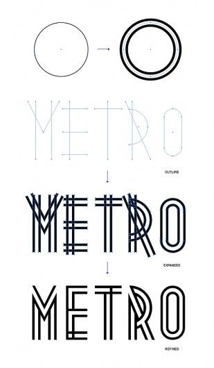 Metropolis 1920 on Typography Served #typeface #typography