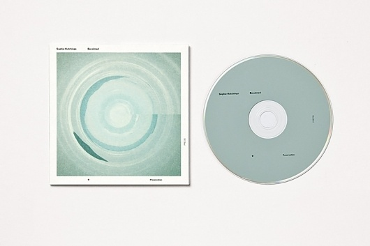 Mark Gowing Design | Packaging | Preservation Music #packaging #minimal #circles #typography