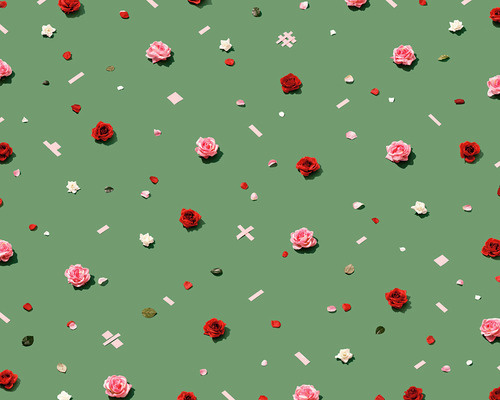 Roses. #pattern