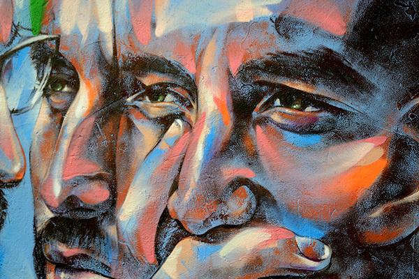 CJWHO ™ (Street Portraits by Rems182 Rems182,'TD',...) #mural #design #illustration #portrait #art #street