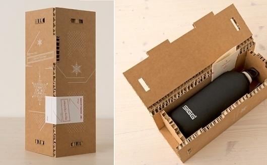 Mediaprofili - Mediaprofili - 2012 #bottle #packaging #gift #christmans #eco #pack #ozone