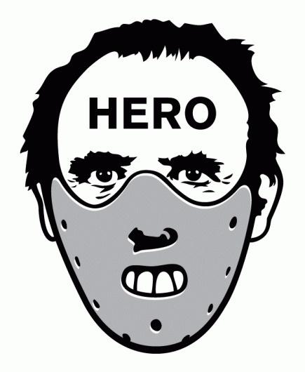 LECTER_HERO.gif (GIF Image, 601x732 pixels) #illustration #portrait #hannibal