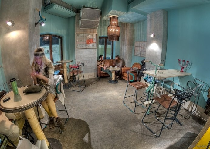 Thematic bar for urban cyclists - The Bicycle by Openspace - HomeWorldDesign (11) #design #interiors #thematic #restaurant