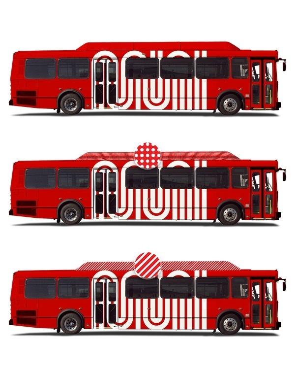 Muni Rebranding Concept Art & Design by D. Kim #bus #logotype #city #identity