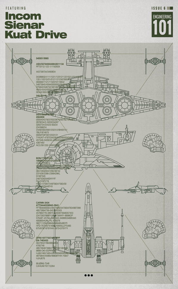 Matt Edwards #wars #diagrams #posters #star