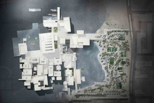 Modern Louvre – Abu Dhabi's art Museum #louvre #art #museum