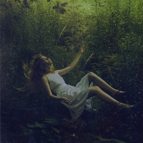 FFFFOUND! | but does it float #white #greenery #falling #photography #forest #dress #female #beauty