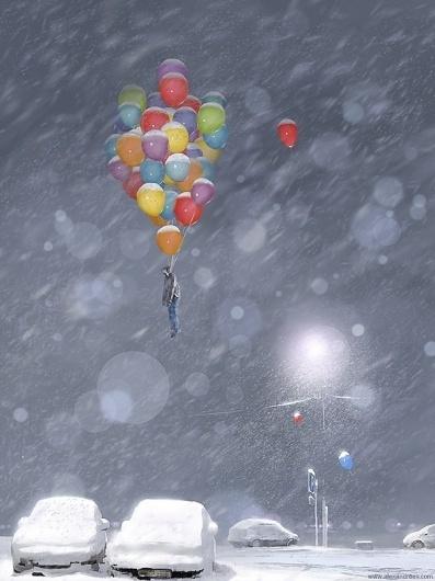 Surrealistic Artwork by Alex Andreyev | Cuded #artwork #surrealisti #alex #andreyev