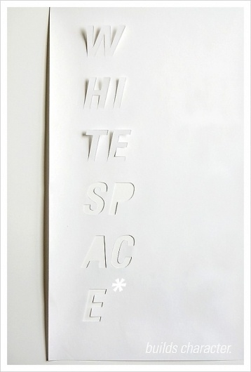 Jared Erickson | Because I Can #cut #white #out #type #paper