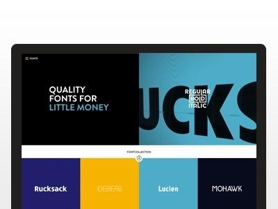 Regular Bold Italic #font #shop #website #type #web #typography