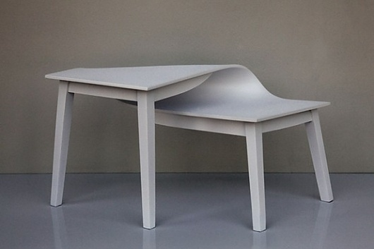 Architecture & Accents / twisted table #sideways #table