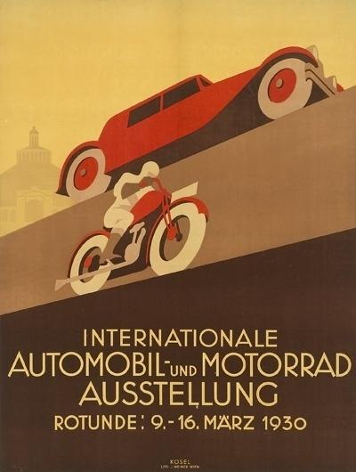 tumblr_m0dl397OWu1qf6jy9o1_400.jpg 400×530 pixels #illustration #motorbike #retro #car