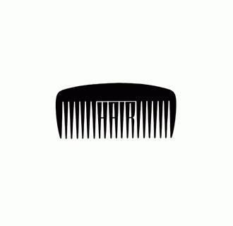 HairLogo[sm].gif (GIF Image, 330x320 pixels) #logo #clever