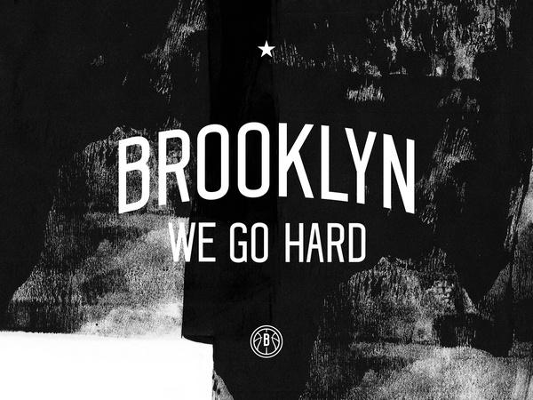 BROOKLYN NETS REDO — DERRICK C. LEE #white #nets #brooklyn #& #black #identity #nba #basketball