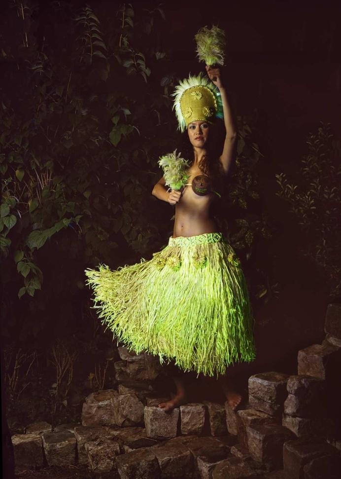Fine Art Fashion Analog Photography by Natacha Lesueur