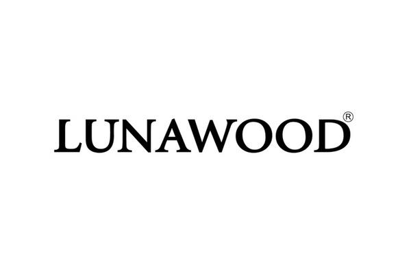 Lunawood logotype designed by Bond #logo