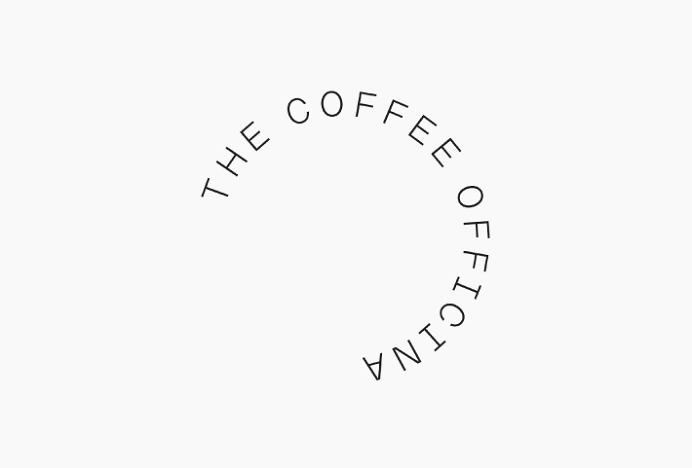 The Coffe Officina by Morse Studio #logo #mark #circle #typography