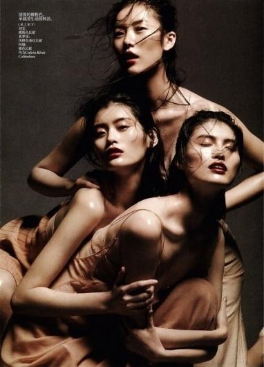 Liu Wen, Sui He & Ming Xi by Daniel Jackson » Creative Photography Blog #fashion #photography #inspiration