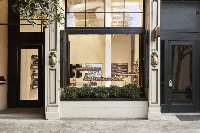 Aesop Jackson Square by Tacklebox Architecture