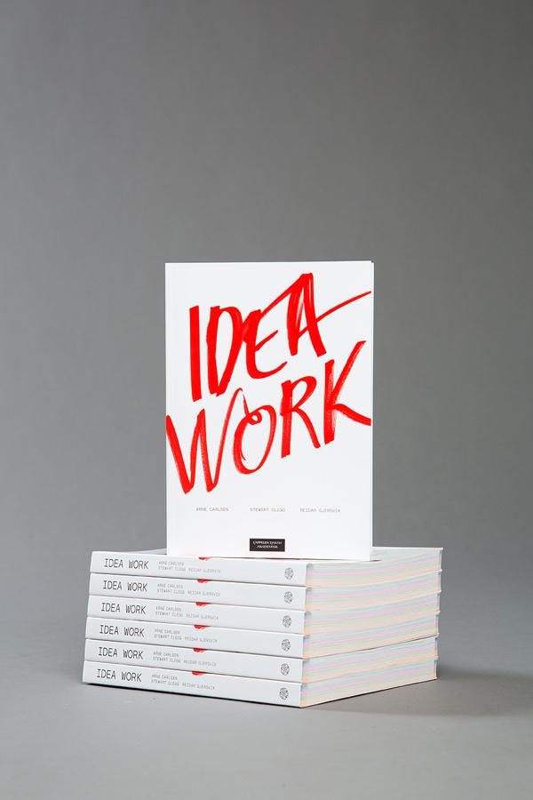 IDEA WORK on Behance #snhetta #print #design #idea #type #work