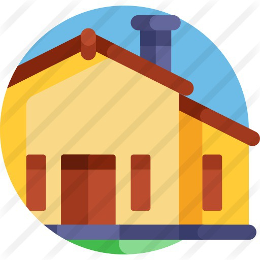 See more icon inspiration related to architecture and city, villa, real estate, rental, rent, mansion, architecture, house, home and building on Flaticon.